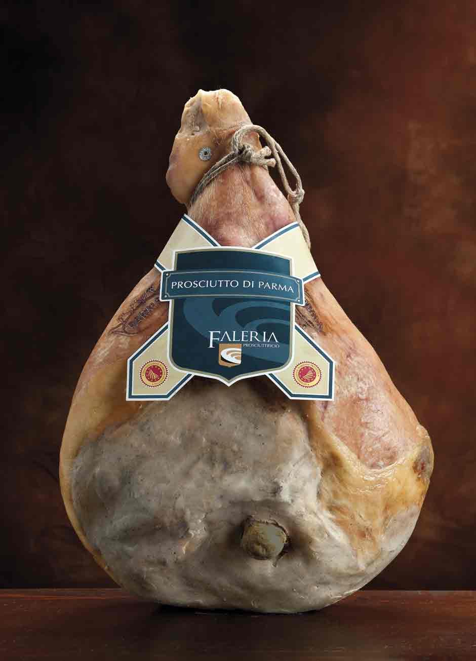 Prosciutto DOP PARMA piccolo per vendita intero, con osso