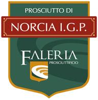 Etichetta Prosciutto Norcia IGP - Faleria
