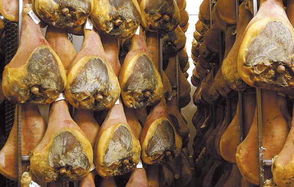 Prosciutti Faleria - Stagionatura
