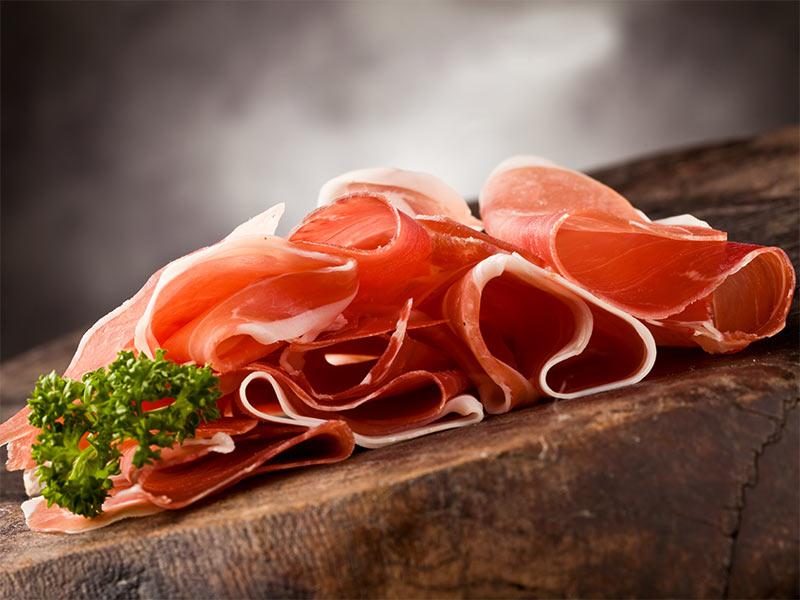 L'aspetto olfattivo e gustativo del prosciutto crudo