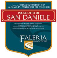 Etichetta Prosciutto San Daniele | Faleria